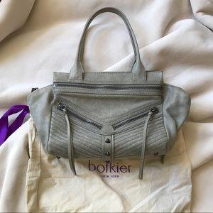Botkier Bag- Gray Studded Satchel